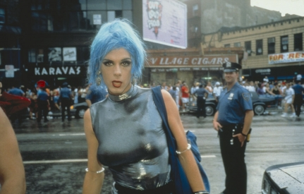 Nan Goldin, Misty in Sheridan Square, NYC, 1991.