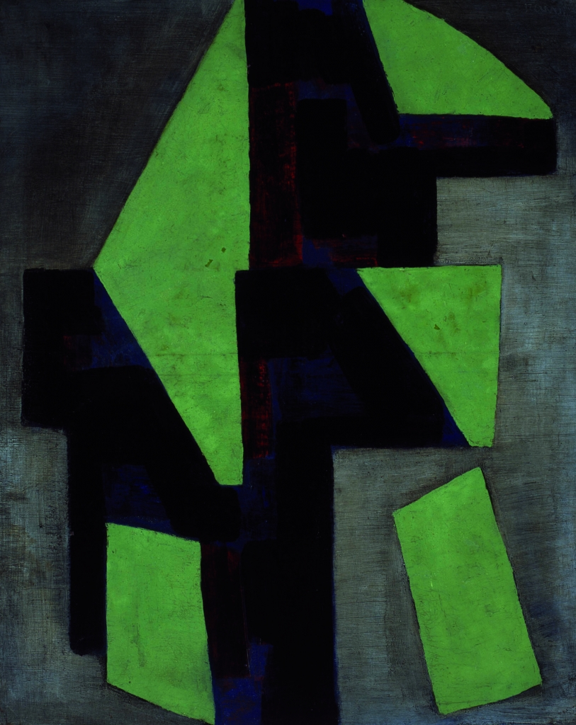 Juli Ramis, Abstracció cubista, 1953. Es Baluard Museu d´Art Modern i Contemporani de Palma, Serra Collection