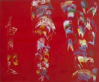 José Manuel Broto, 'Rojo III', 2004. Colección Es Baluard Museu d'Art Modern i Contemporani de Palma.