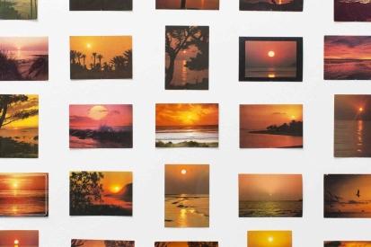 Oriol Vilanova, Sunsets from…, 2013. Cortesia de l'artista & Galería Parra y Romero, Madrid / Ibiza © de l'obra: Oriol Vilanova, 2015 © de la fotografia: Sandra Pointet