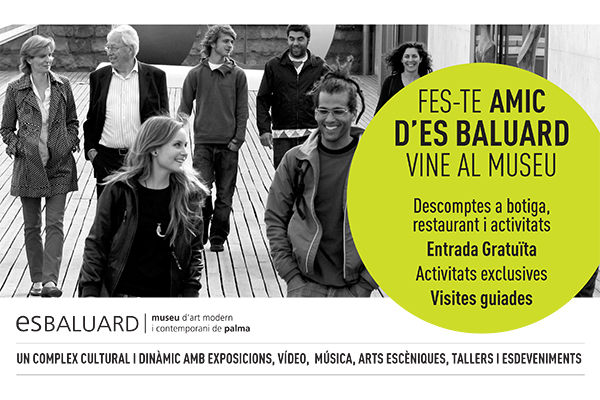 Es Baluard, Palma, Mallorca, Balearics, Amic, friend, collaboration, partner