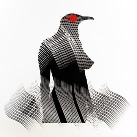 Carlos Amorales, 'Mujer pájaro', 2005. © of the work, Carlos Amorales © of the photo: José Mª Lafuente Balle Files