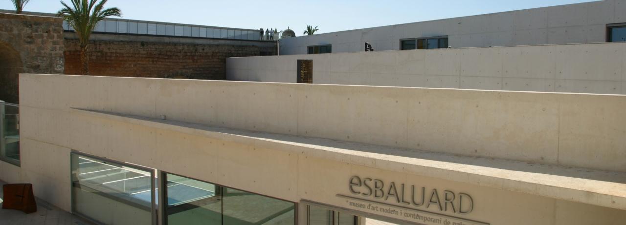 Es Baluard. Outside.