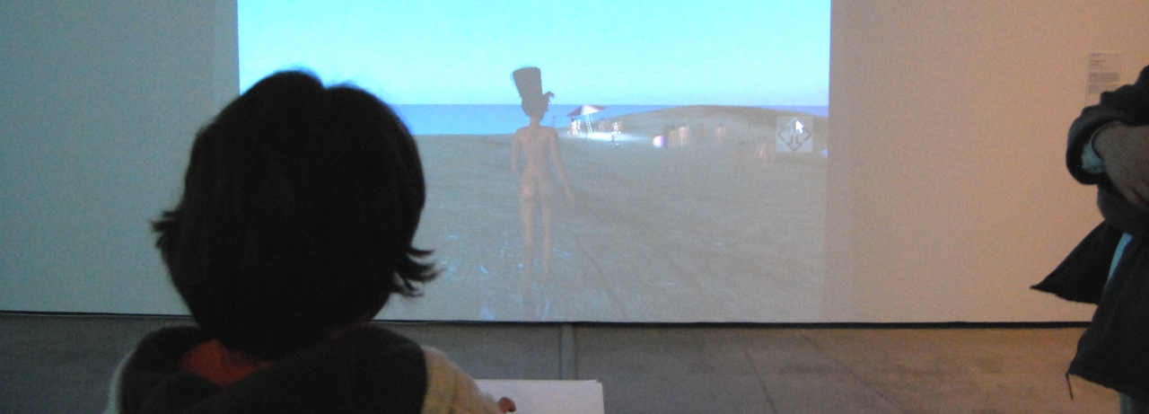 Gazira Babeli, <i>The Bathers</i>, 2010. Photo: Es Baluard