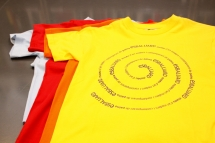 Es Baluard. T-Shirt Espiral 
